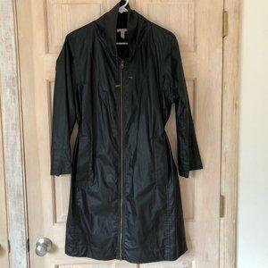 Eileen Fisher Long Rain Trench Jacket